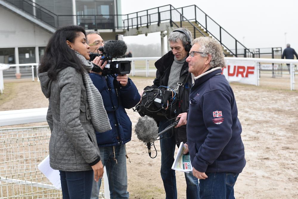 France 3 présent à la course du 8 janvier 2017